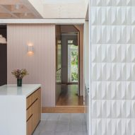 "Proctor & Shaw use faceted 3D tiles to create ""rhythmic"" London house extension"