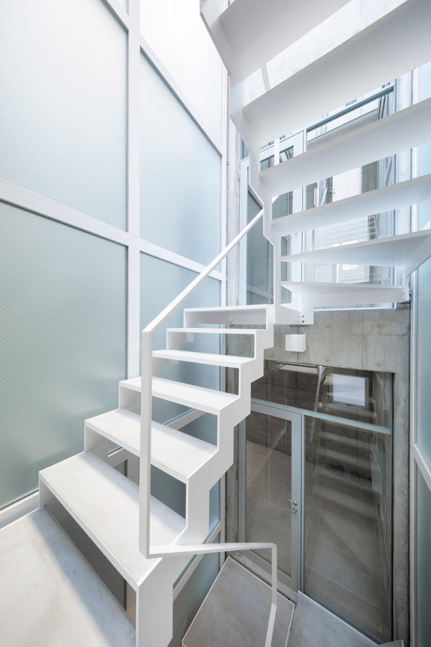 Skinny office by SO&CO in Tokyo, Japan
