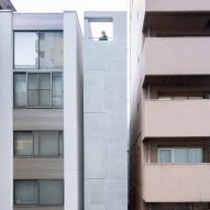 SO&CO squeezes 2.7-metre-wide office block into alley in Tokyo