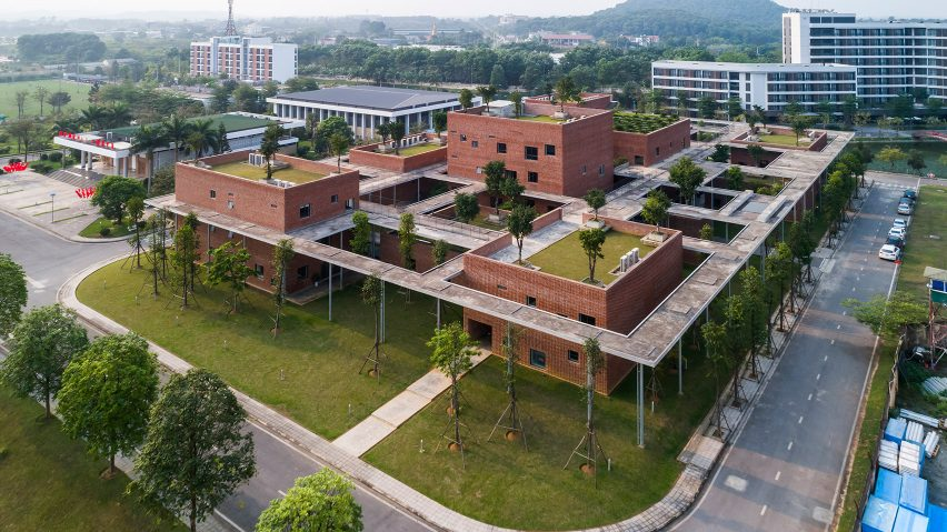 Viettel Academy Education Centre by Vo Trang Nghia Architects