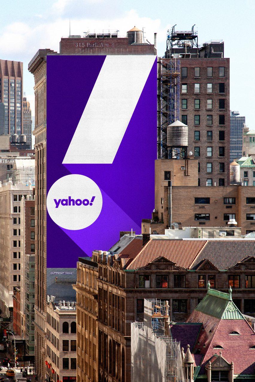 Yahoo rebrand by Pentagram
