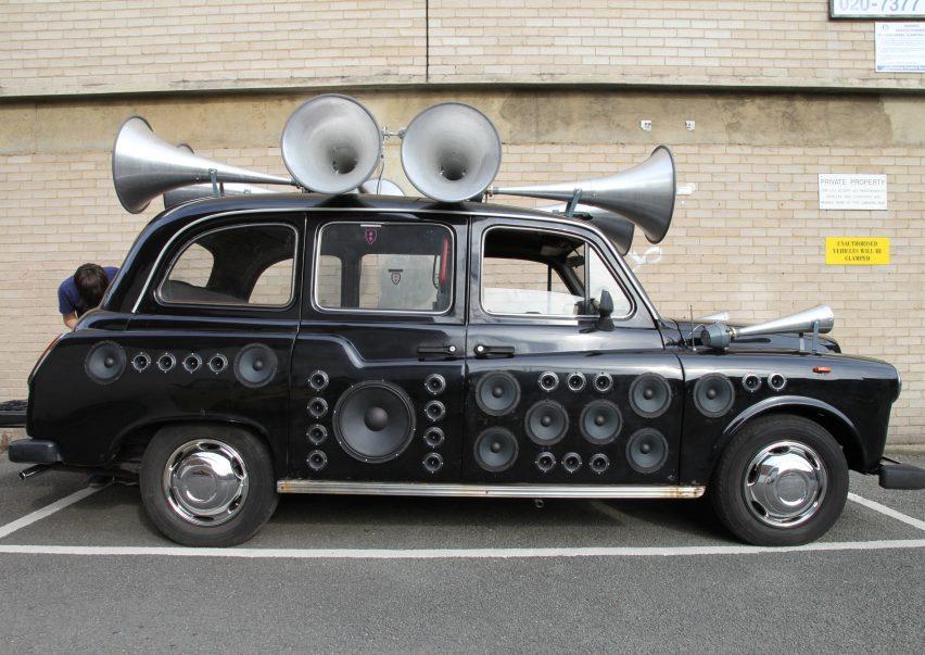 Yuri Suzuki sound design: Sound Taxi