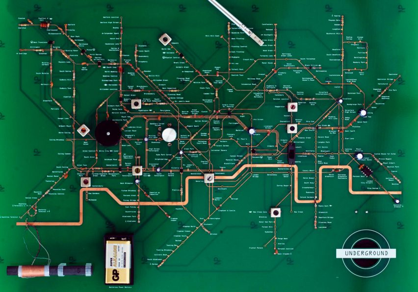 Yuri Suzuki sound design: Tube Map Radio