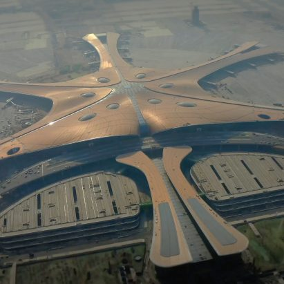 Zaha Hadid Architects Beijing Daxing airport