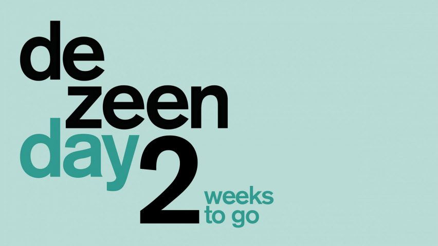 Two weeks Dezeen Day