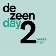 Just two weeks to go until Dezeen Day!
