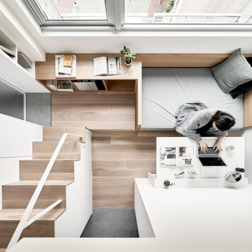 Winner: Small interior of the year. 17.6 square-metre flat by A Little Design