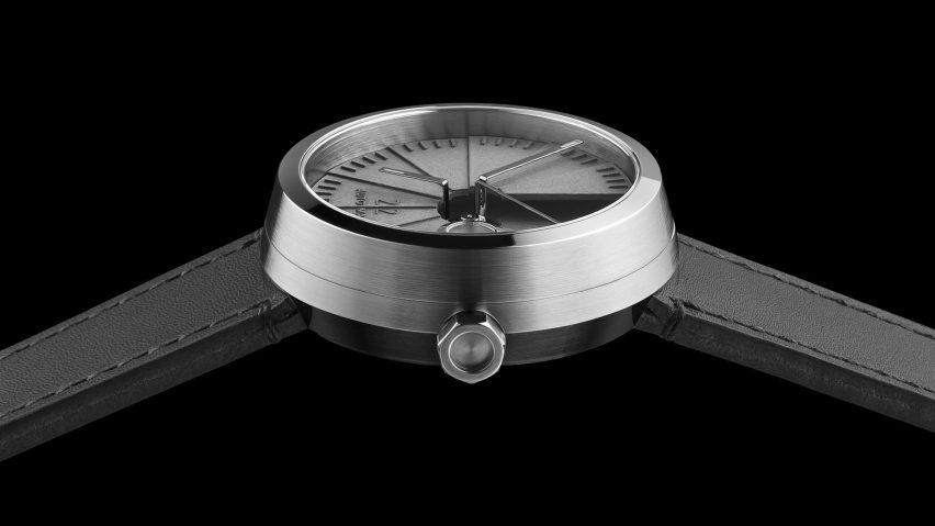 4D Concrete Watch Automatic by 22 Design Studio