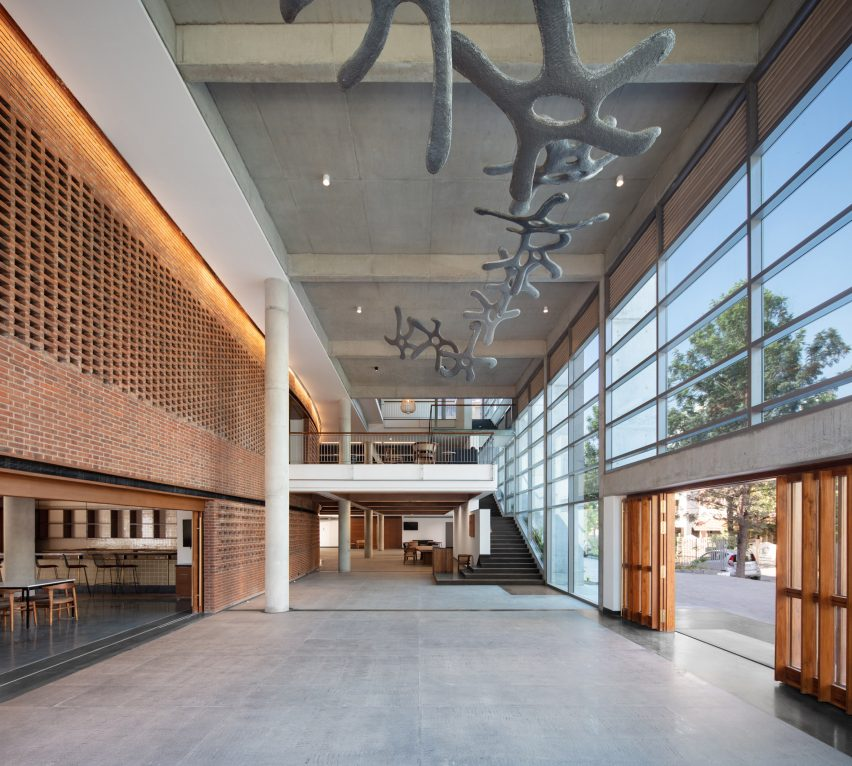 Bangalore International Centre by Hundredhands