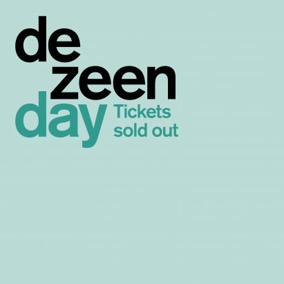 Tickets for Dezeen Day have now sold out