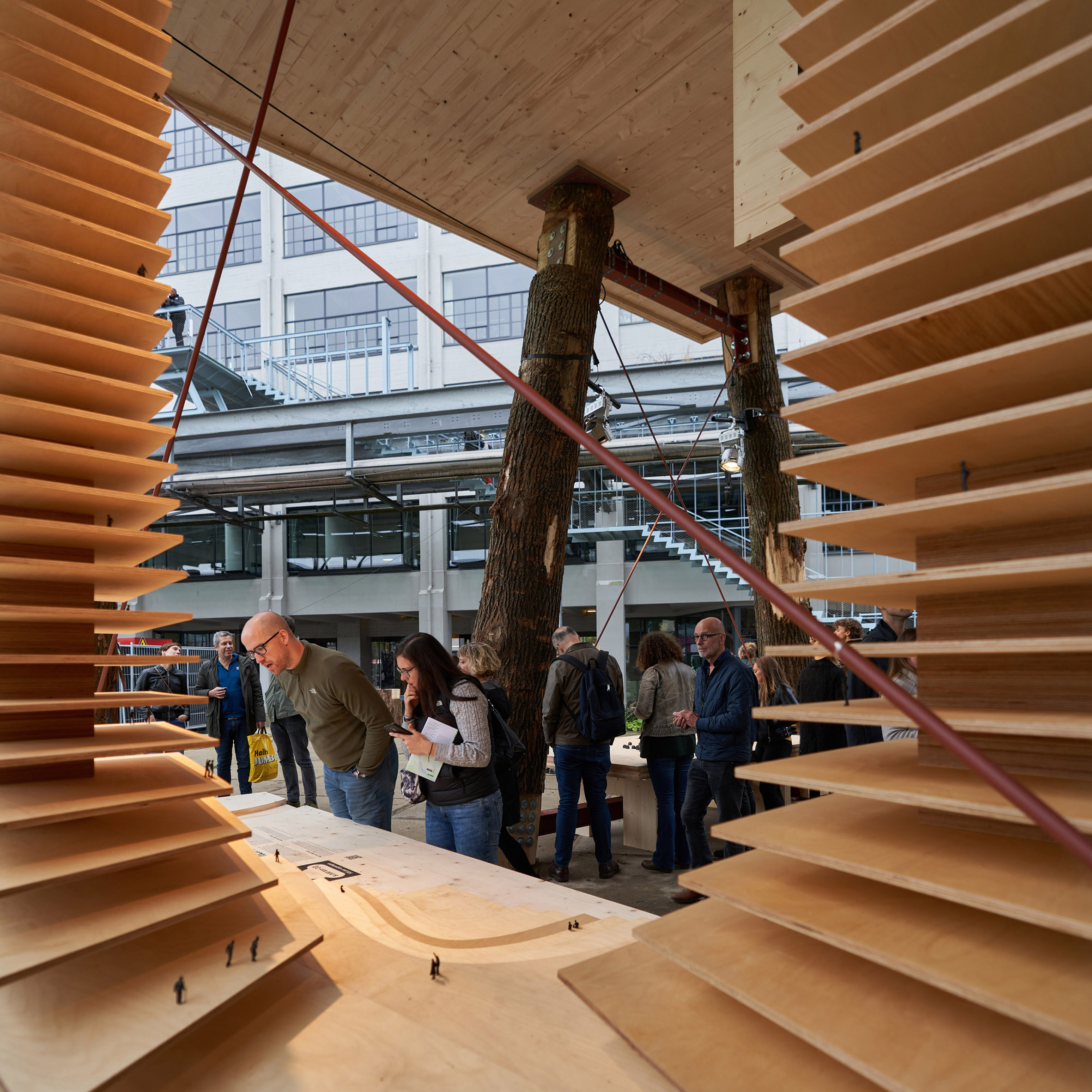 Design Bank Oranje.Timber Could Solve Dutch Housing Shortage And Be A Chance For