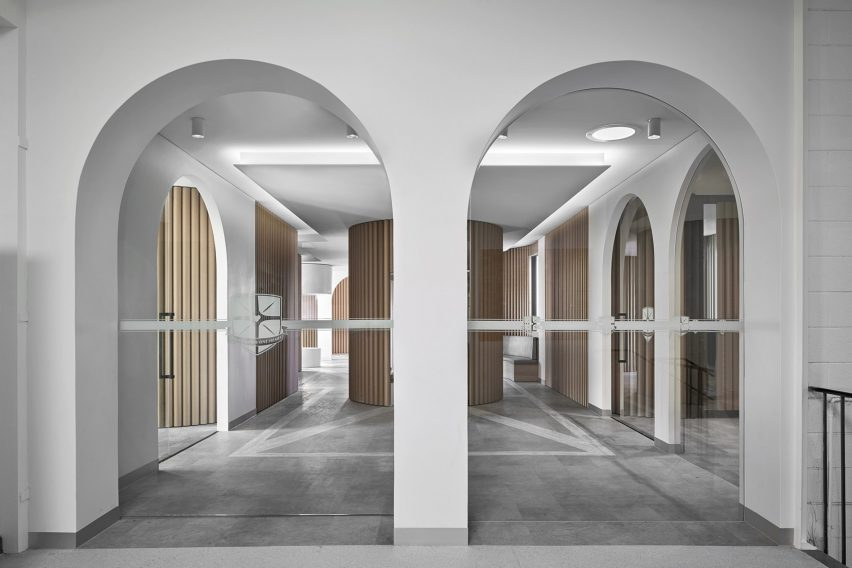 Piazza Dell'Ufficio by Branch Studio Architects also won small workspace of the year