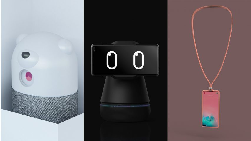 Top three accessory designs for the Samsung Mobile Design Competition