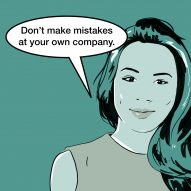 """""""Don't make mistakes at your own company"""" says Dara Huang"""
