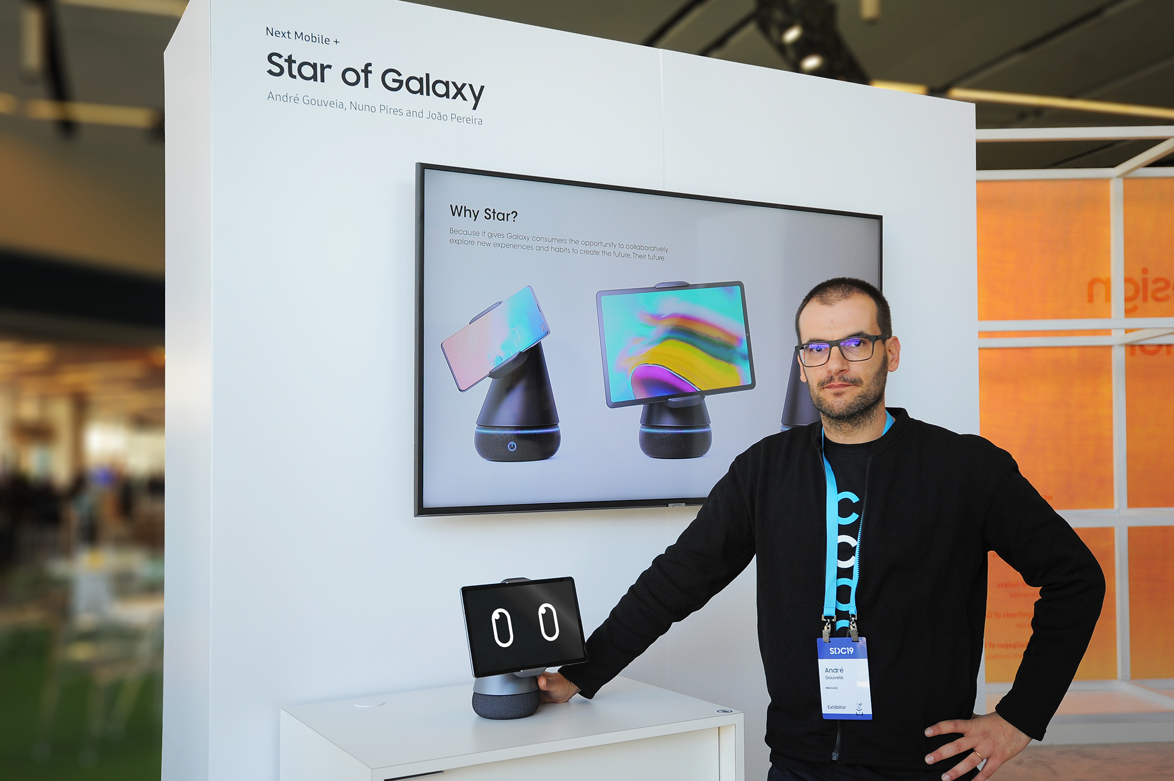 Star of Galaxy wins Samsung Mobile Design Competition 2019