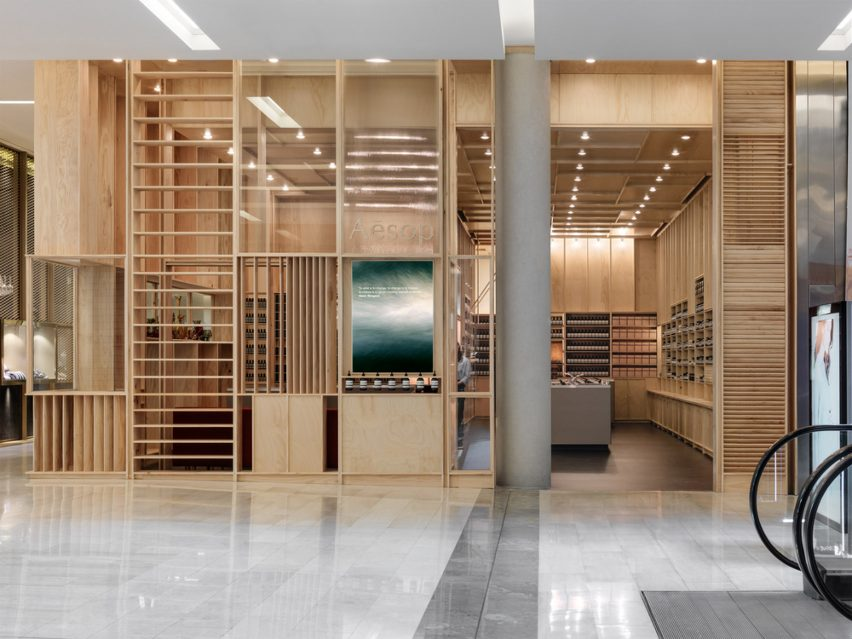 Aesop Bondi Signature Store by Mlkk Studio