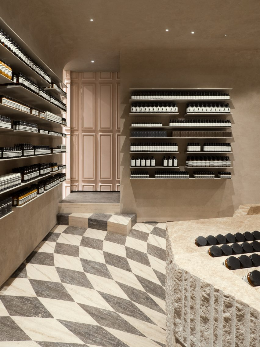 Aesop Piccadilly by Studio Luca Guadagnino