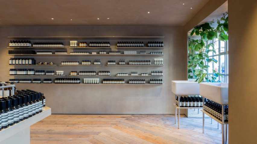 Aesop Piccadilly Arcade by Studio Luca Guadagnino