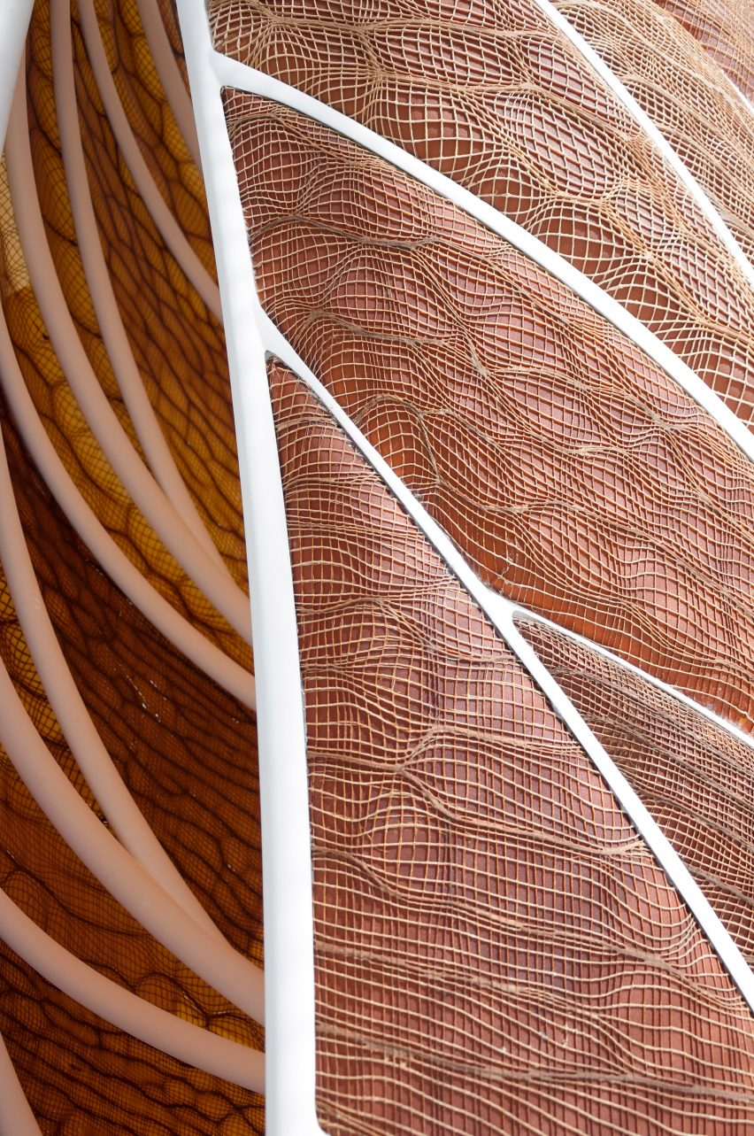 Aguahoja I pavilion by MIT Media Lab