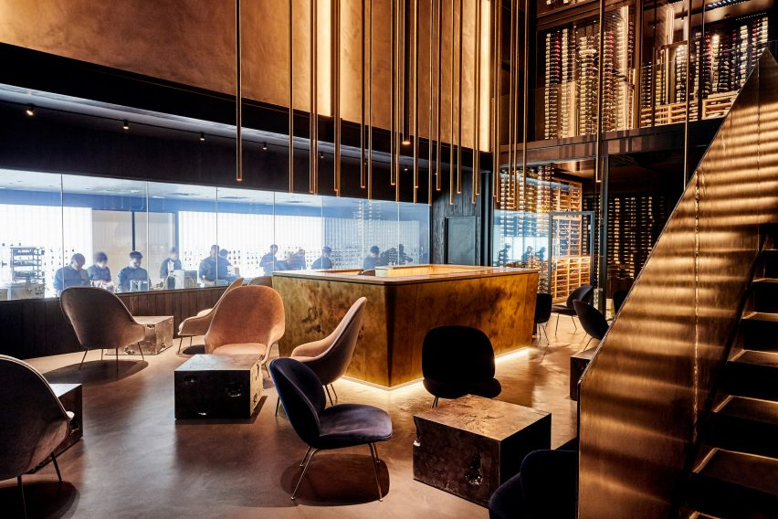 Alchemist restaurant, Copenhagen, designed by Studio Duncalf