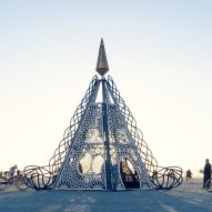 Architect John Marx reimagines a Greek myth for Burning Man pavilion