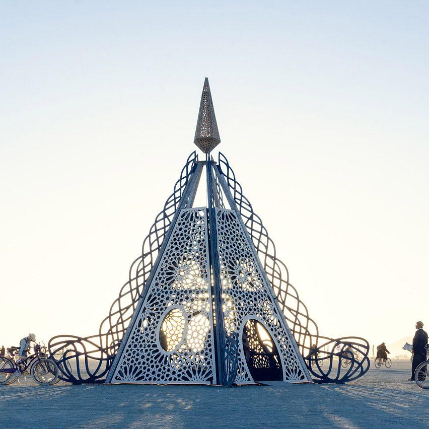 Architect John Marx reimagines a Greek myth for Burning Man pavilion
