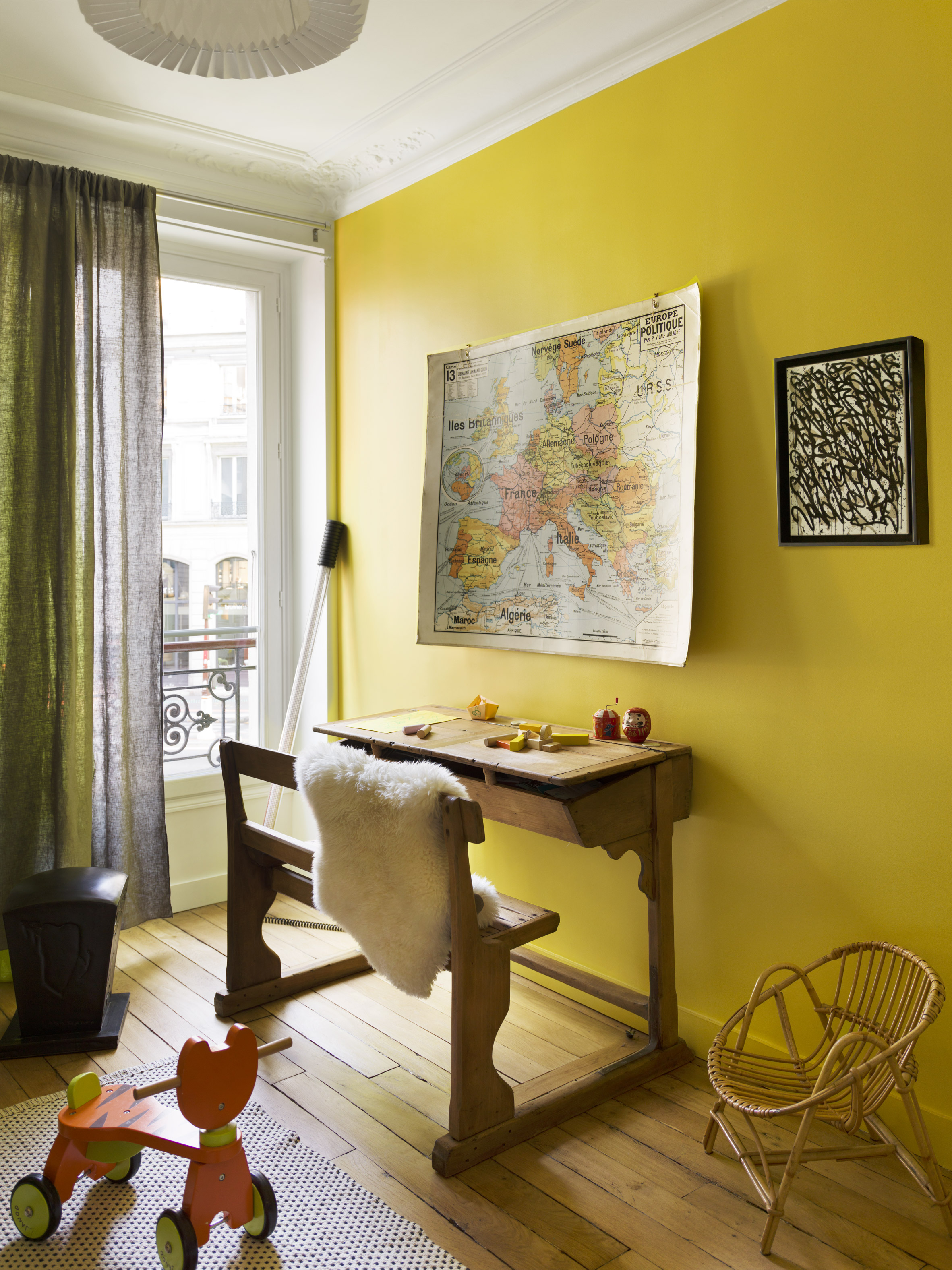 Apartment Paris Marais children room by Sophie Dries