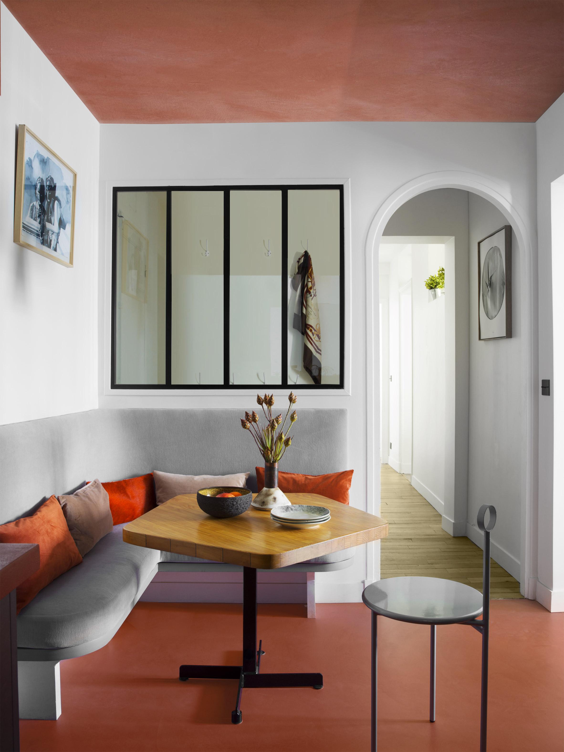 Apartment Paris Marais kitchen by Sophie Dries