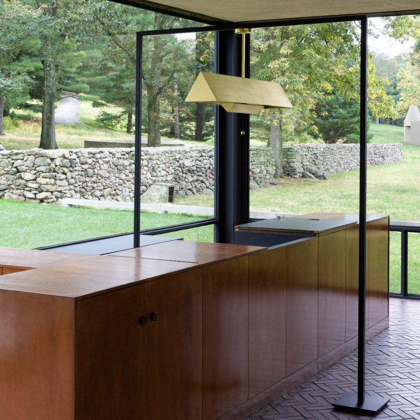 Workstead launches new lighting collection at Philip Johnson's Glass House