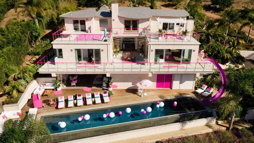 Barbie lists Malibu Dreamhouse on Airbnb