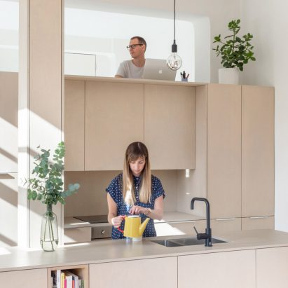 The Biscuit Factory apartment, designed by SUPRBLK