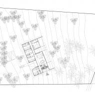 BL House by Mas Fernandez Arquitectos Site Plan