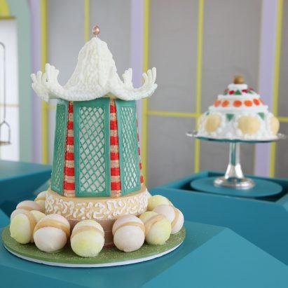 "Bompas & Parr produces ""world's lightest dessert"" weighing just one gram"