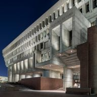 "Boston City Hall renovation preserves ""straightforward honesty"" of brutalist building"