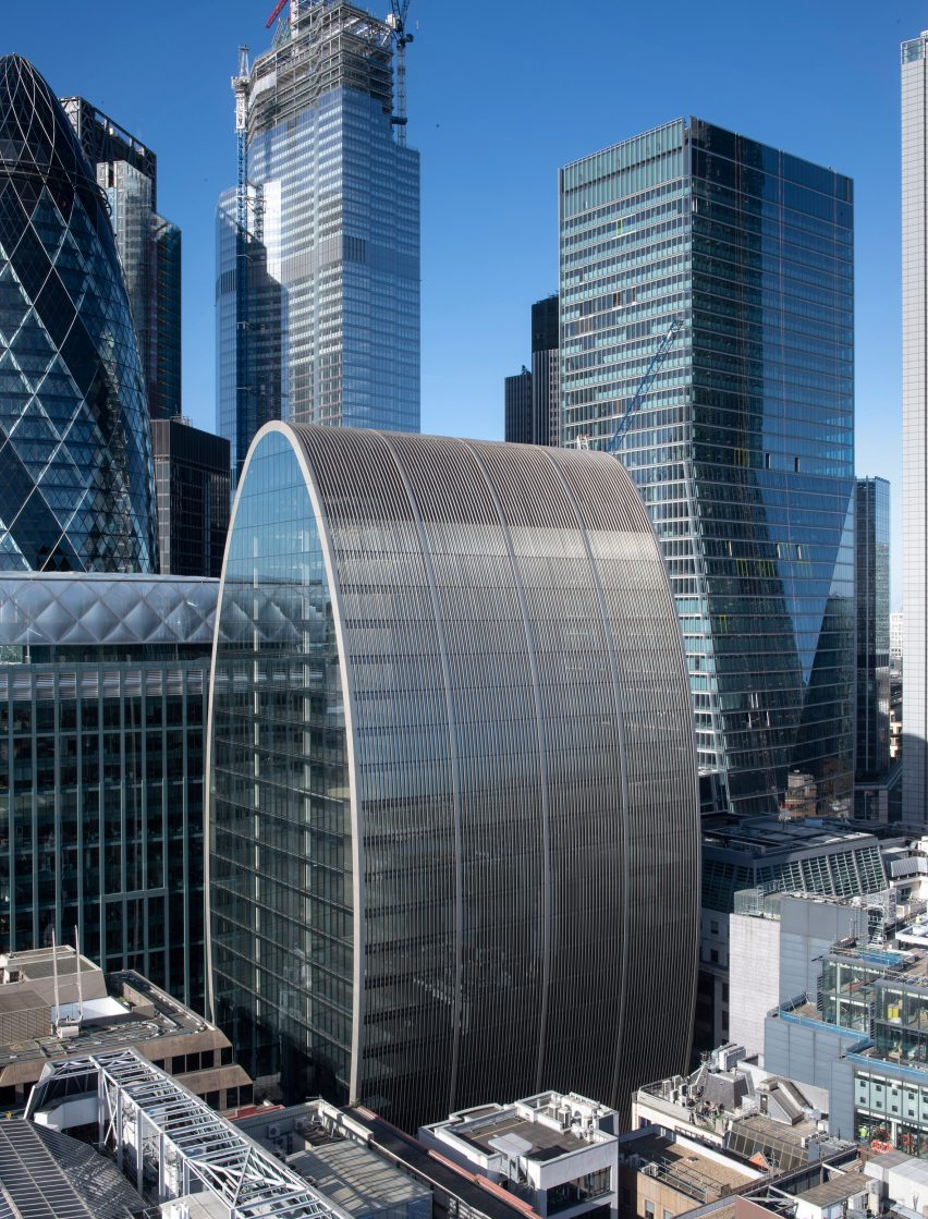 Can of Ham skyscraper, 70 St Mary Axe, London by Foggo Associates