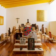 Luis Barragán's personal art collection displayed in Mexico City studio