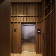 Elevators at Casa Popeea boutique hotel by Manea Kella