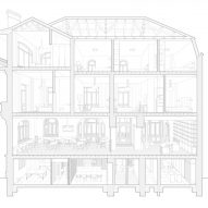 Section of Casa Popeea boutique hotel by Manea Kella