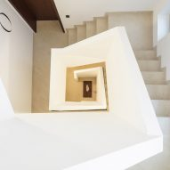 Staircase at Casa Popeea boutique hotel by Manea Kella