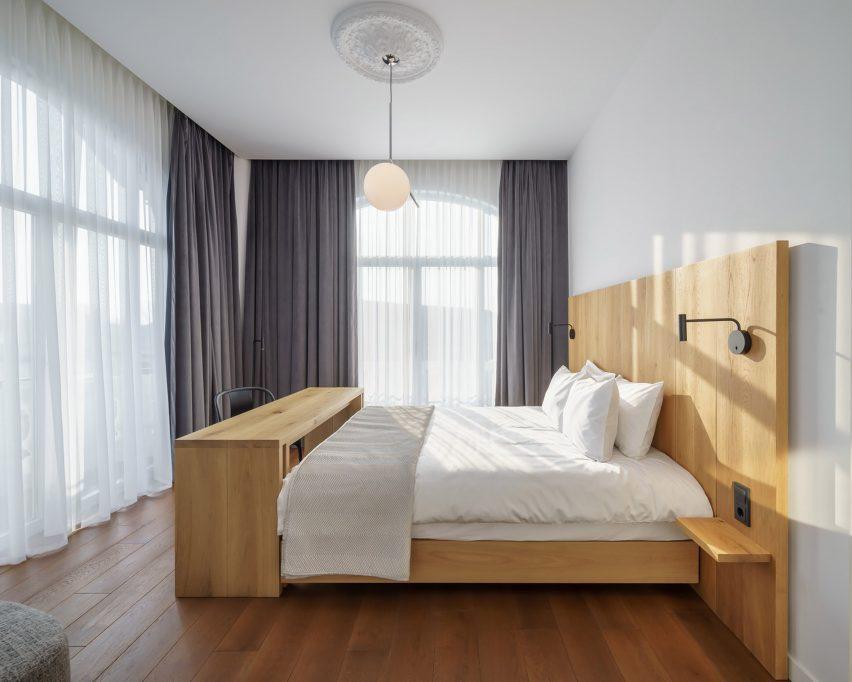 Bedroom at Casa Popeea boutique hotel by Manea Kella