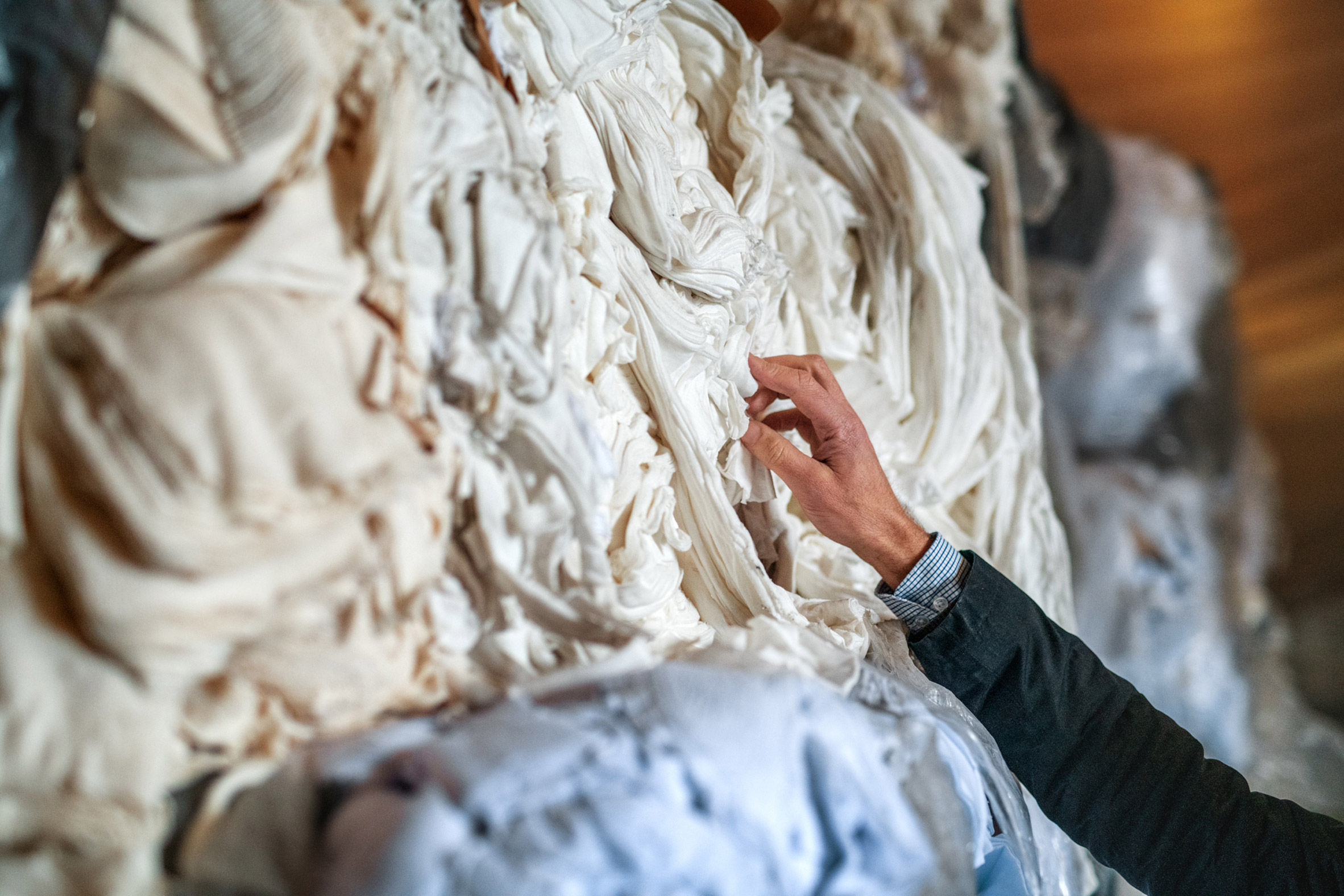 Circulose clothing made from recycled cotton