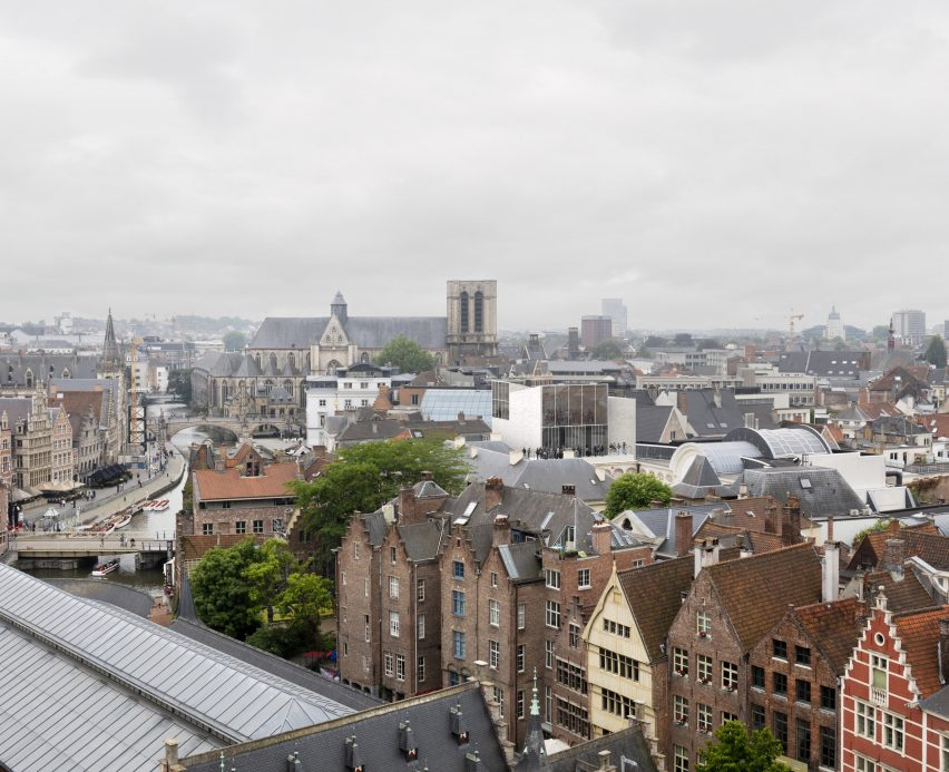 Design Museum Gent extension by Carmody Groarke and TRANS Architectuur Stedenbouw