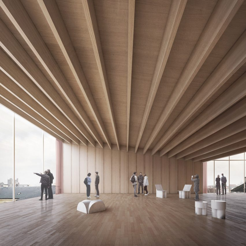 Design Museum Gent extension by Carmody Groarke and TRANS Architectuur Stedenbouw