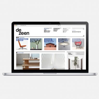 Dezeen up for seven awards for journalism, publishing and events