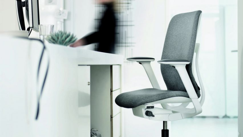 AT 187 ergonomic office chair by Wilkhahn