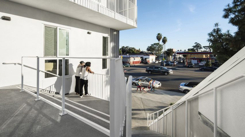 MLK1101 Supportive Housing, Los Angeles, US, by Lorcan O'Herlihy Architects (LOHA)