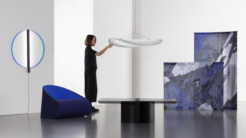Tense furniture collection by Panter & Tourron. Photo is by Jagoda Wisniewska