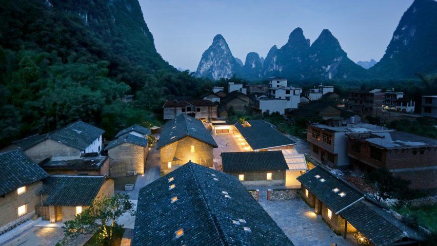 XY Yunlu Hotel, Yangjia, China, byAtelier Liu Yuyang