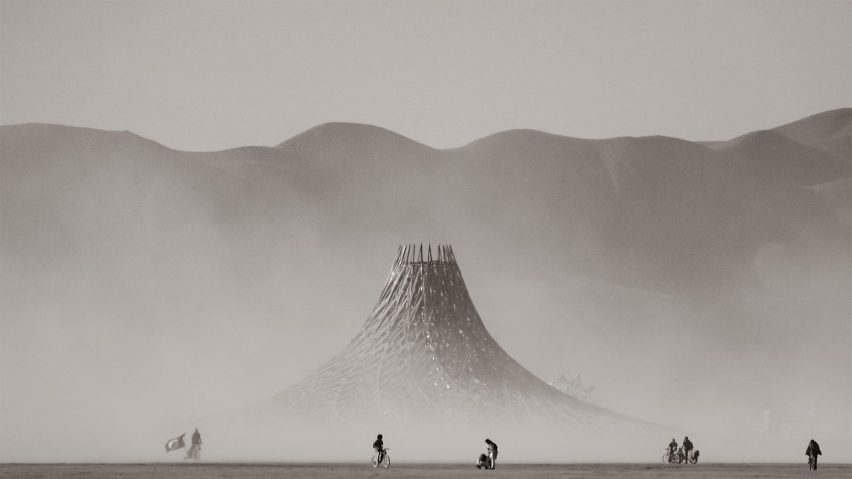 Galaxia, Black Rock Desert, US, by Mamou-Mani Architects