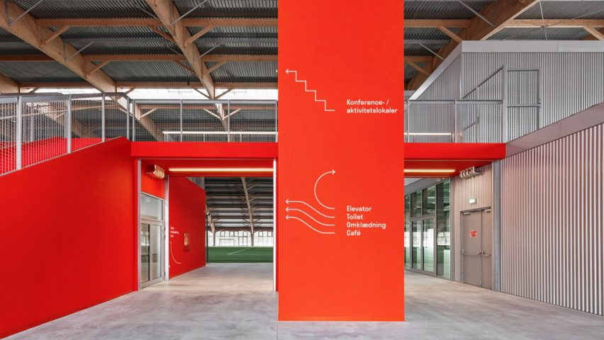 Hafnia-Hallen by Re-public has been named graphic design of the year
